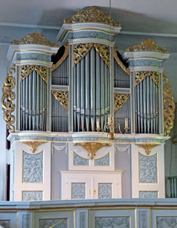 Silbermann Orgel